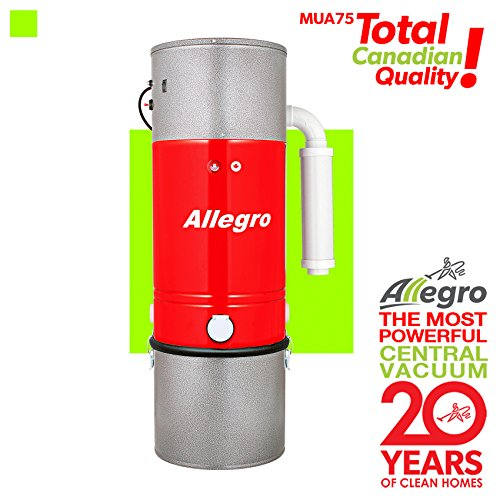 Allegro MUA75 Zenith 15,000 Square Feet Central Vacuum Power Unit