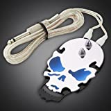 Generic 1PC Stainless steel Tattoo Machine Foot Pedal Switch Flat (BLUE)