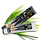 #9: Kuulee 100% Natural Active Whitening Charcoal Toothpaste Black Bamboo Charcoal Toothpaste Oral Hygiene Teeth Care 160g