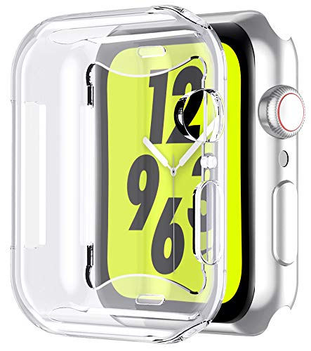 Bovon for Apple Watch Series 4 Screen Protector (40mm), iWatch 4 Case [3D Touch] [All Around Protective] [Ultra Clear] Soft TPU Cover Bumper for 2018 New Apple Watch 4