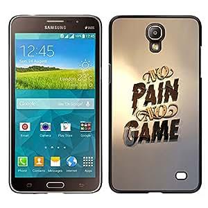 Stuss Case / Funda Carcasa protectora - No Gaming dolor ningún juego Oro Pc - Samsung Galaxy Mega 2
