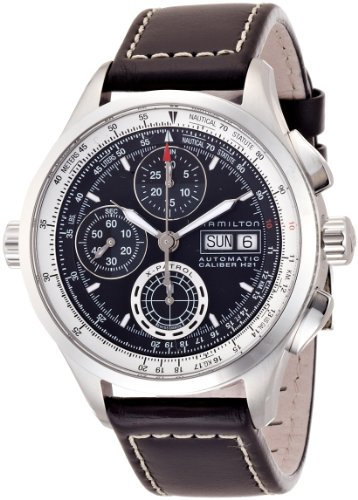 Hamilton Khaki Aviation X-Patrol Auto Chrono Men's Automatic Watch H76556731 (Hamilton Auto Aviation Khaki)