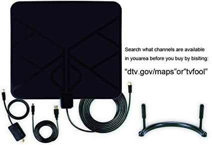 Review TV Antenna Digital HDTV