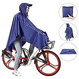 Andake Reusable Rain Poncho, Portable Durable Raincoat for Walking, Cycling