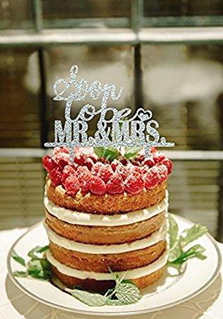 Soon to be Mr et Mrs gateau de mariage D|corations pour argent de mariage de douche pour gateaux vintage