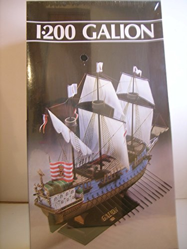 heller-models-1-200-scale-15th-century-sail-ship-galion-plastic-model-kit