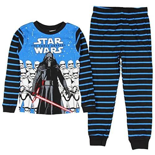 top Star Wars Boy's 2 Piece Cotton Pajama Sleepwear Set for cheap