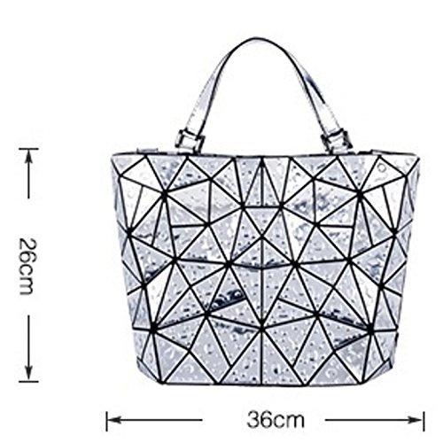 Geometrica Mano Tracolla A Blue A Borsa Tracolla Cuciture Cucita A A Geometrica Mano Con XZWNB vaOxRx
