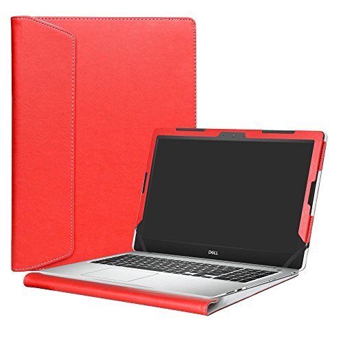Alapmk Protective Case Cover For 15.6 Dell Inspiron 15 5570 5575 5566 5555 5559 5558 5557 Laptop(Warning:Not fit model 5578 5568 5579),Red