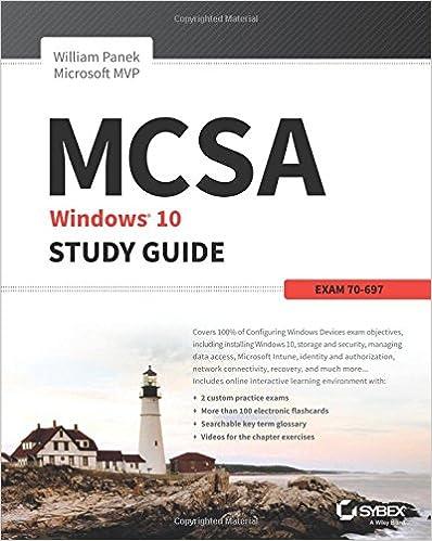 Amazon mcsa microsoft windows 10 study guide exam 70 697 amazon mcsa microsoft windows 10 study guide exam 70 697 9781119252306 william panek books fandeluxe Image collections