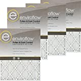 Enviroflow 22X24X1 (21.5 x 23.5) Pollen and Dust Control (4 Pack)