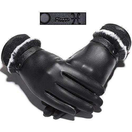 貫通却下する新鮮な[FERE8890] レディース グローブ 手袋 星座 おしゃれ かわいい 液晶タッチ対応手袋 スマホ対応 ふわふわ 冬 暖かい 厚手 女性用 タッチパネル 韓国風 防寒 冷え対策 ファッション
