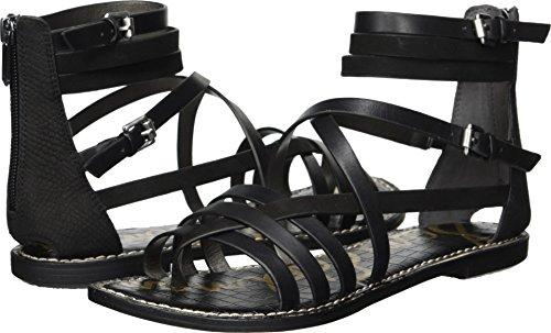 Sam Edelman Women's Ganesa Sandal, Black, 8.5 M US