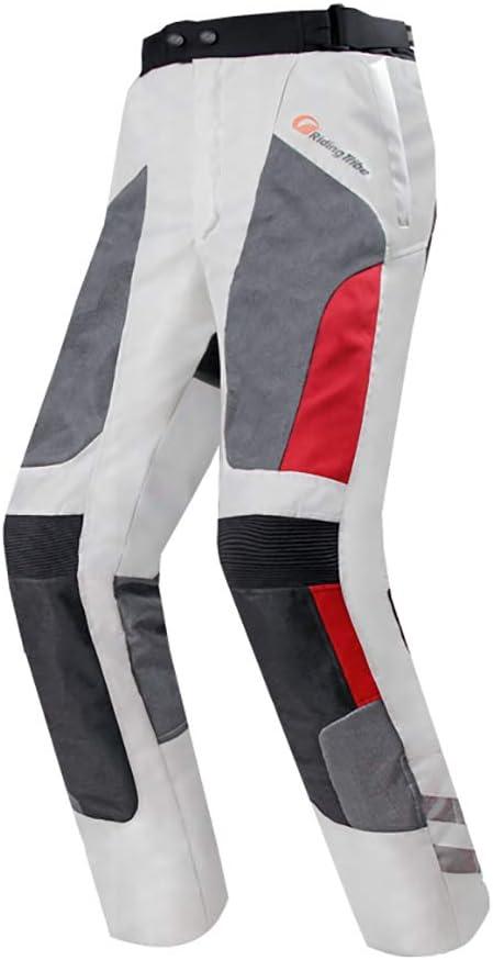 Lvnrids Pantalones de motocicleta unisex con protecci/ón impermeable y forro extra/íble