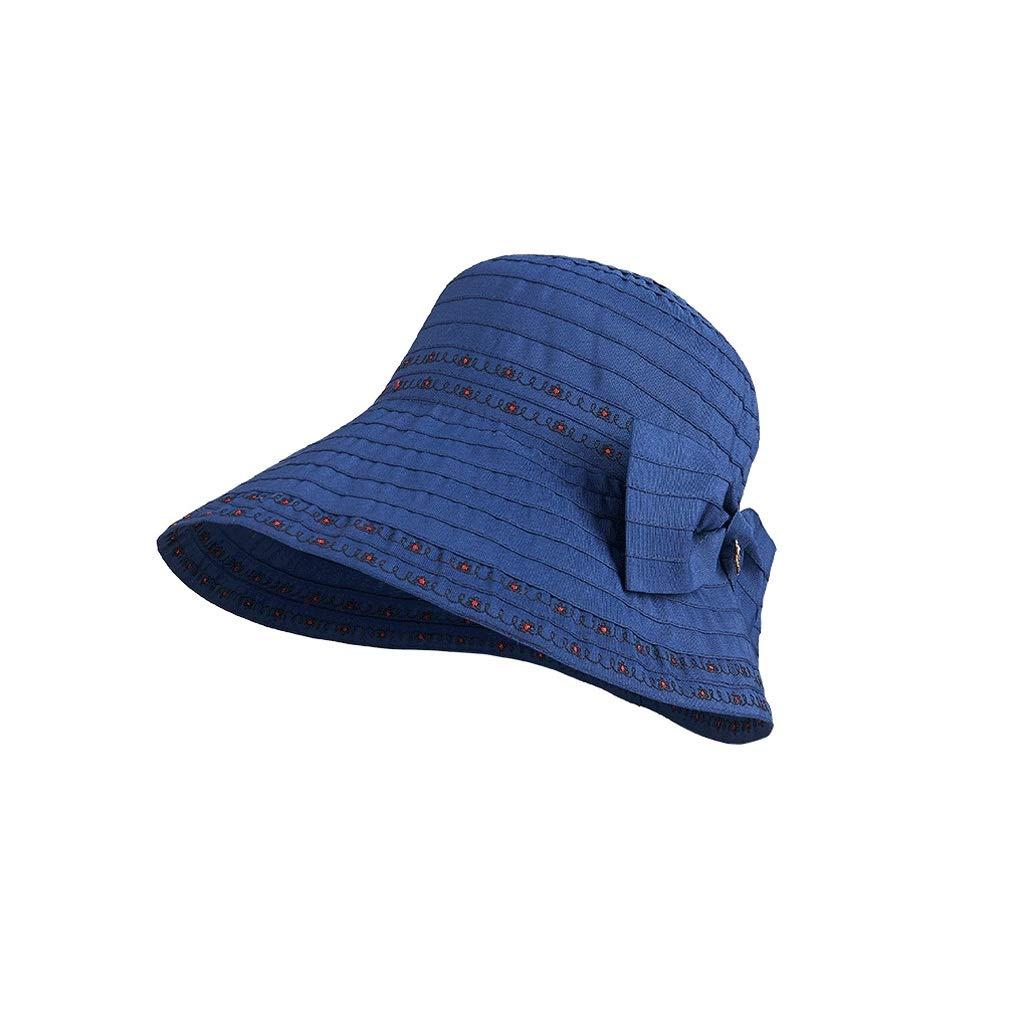 Py 日焼け止め帽子女性の日焼け止めUVバイザービーチ帽子カジュアル野生の屋外の帽子折りたたみ女性の帽子   B07QVL9SG7