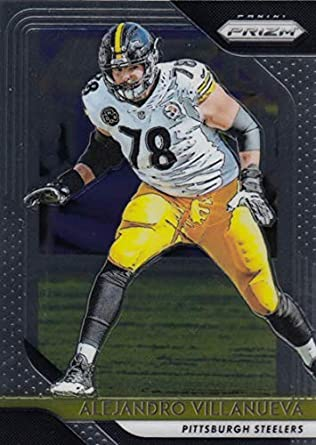 900df653d 2018 Panini Prizm Football  37 Alejandro Villanueva Pittsburgh Steelers  Official NFL Trading Card