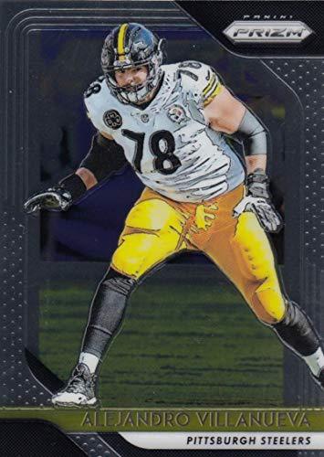 f72c50391 Amazon.com  2018 Panini Prizm  37 Alejandro Villanueva Pittsburgh Steelers  Football Card  Collectibles   Fine Art