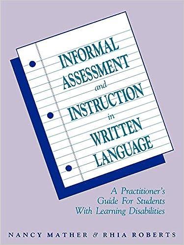 informal assessments for reading