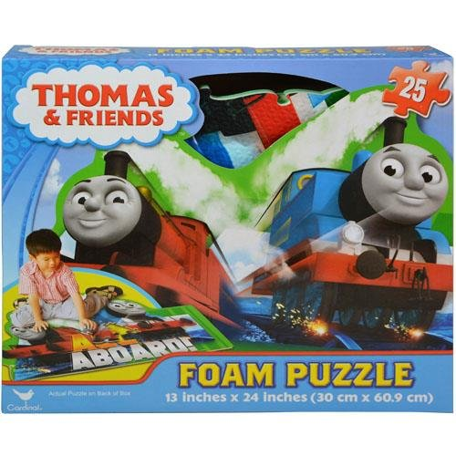 25 Pcs Puzzle Toy - Thomas And Friends 25-Pc Floor Foam Puzzle Mat