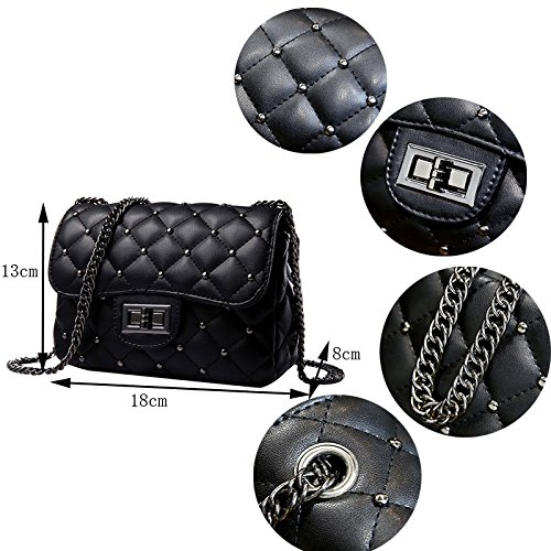 Revet Women Evening Body Pt1 Classic Chain Quilted Handbag Shoulder Abuyall Fashion 18 Clutch Mini 13cm Cute Cross Bag 8 46pvnxwq
