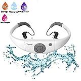 Best Waterproof Mp3 Players - Waterproof Mp3 Music Player Headphones,Tayogo 2016 Upgraded 8GB Review