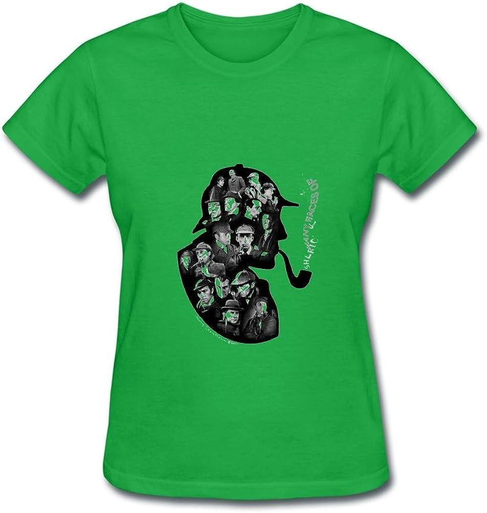 Women's Sherlock Holmes Short Sleeve T-Shirt