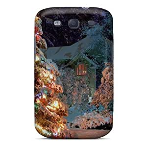 Awesome Case Cover/galaxy S3 Defender Case Cover(gorgeous Christmas Tree)