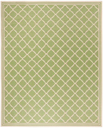 Safavieh LND121X-9 Linden Collection Area Rug, 9' x 12', - Area Rug Rectangular Olive