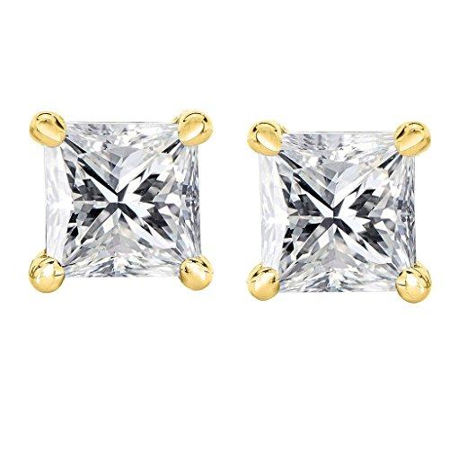 0.15 Ct Princess Diamond - 5