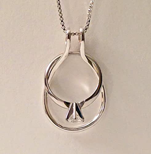 Amazon.com: Ring Holder Necklace Smooth Dewdrop By Ali C