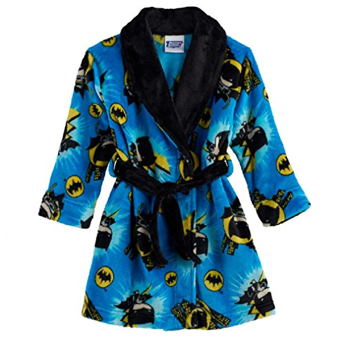 DC Comics Batman Plush Robe Toddler Boys, Blue, (2T)]()