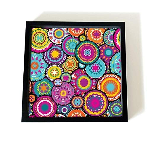 PRINTELLIGENT Serving Wooden Tray Digital Floral Print (9×9 Inches) Price & Reviews