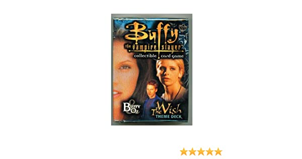 Amazon Buffy The Vampire Slayer Card Game Class Of 99 Theme