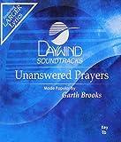 Music : Unanswered Prayers [Accompaniment/Performance Track]