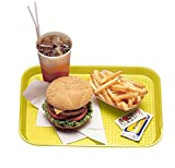 "Cambro (1216FF108) 12"" x 16"" Rectangular Polypropylene Fast Food Tray [Case of 24]"