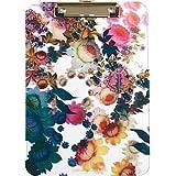 Cynthia Rowley Translucent Clipboard, Cosmic White Floral (9 x 12)