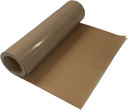 "PTFE Roll 16/""x36 Yards x 3 mil thick,for heat pressing//food processing Teflon"