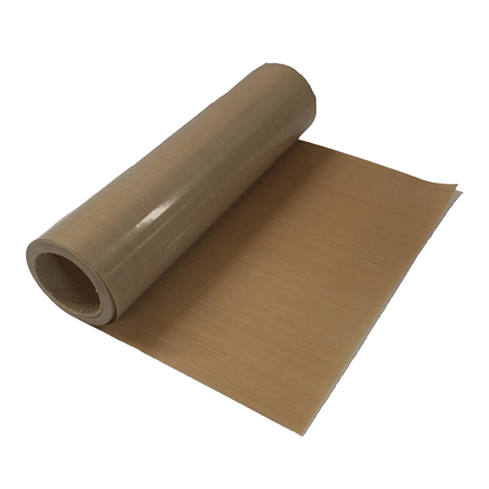 5 Rolls 39'' x 5 Yard Teflon Fabric Sheet Roll Sublimation Heat Resistant PTFE Fabric 8Mil Thickness for Heat Press Transfer Sublimation Printing(0.2mm)