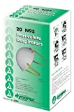 SPECIAL PACK OF 3-N95 High Efficiency Molded Face Mask Bx/20