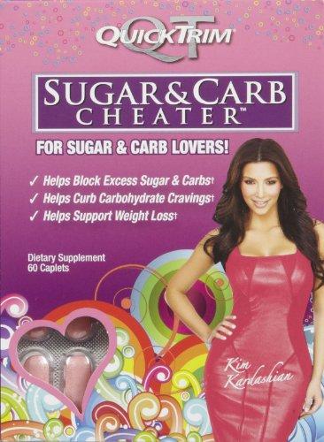 Quick Trim Sugar & Carb Cheater, Caplets, 60 ea