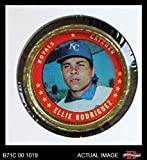 1971 Topps Coins # 124 Ellie Rodgiuez Kansas City Royals (Baseball Card) Dean's Cards 3 - VG Royals