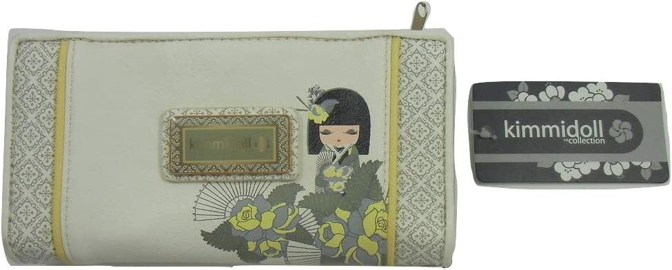 Kimmidoll Collection Monedero Estuche Portatodo Blanco Mujer: Amazon.es: Equipaje