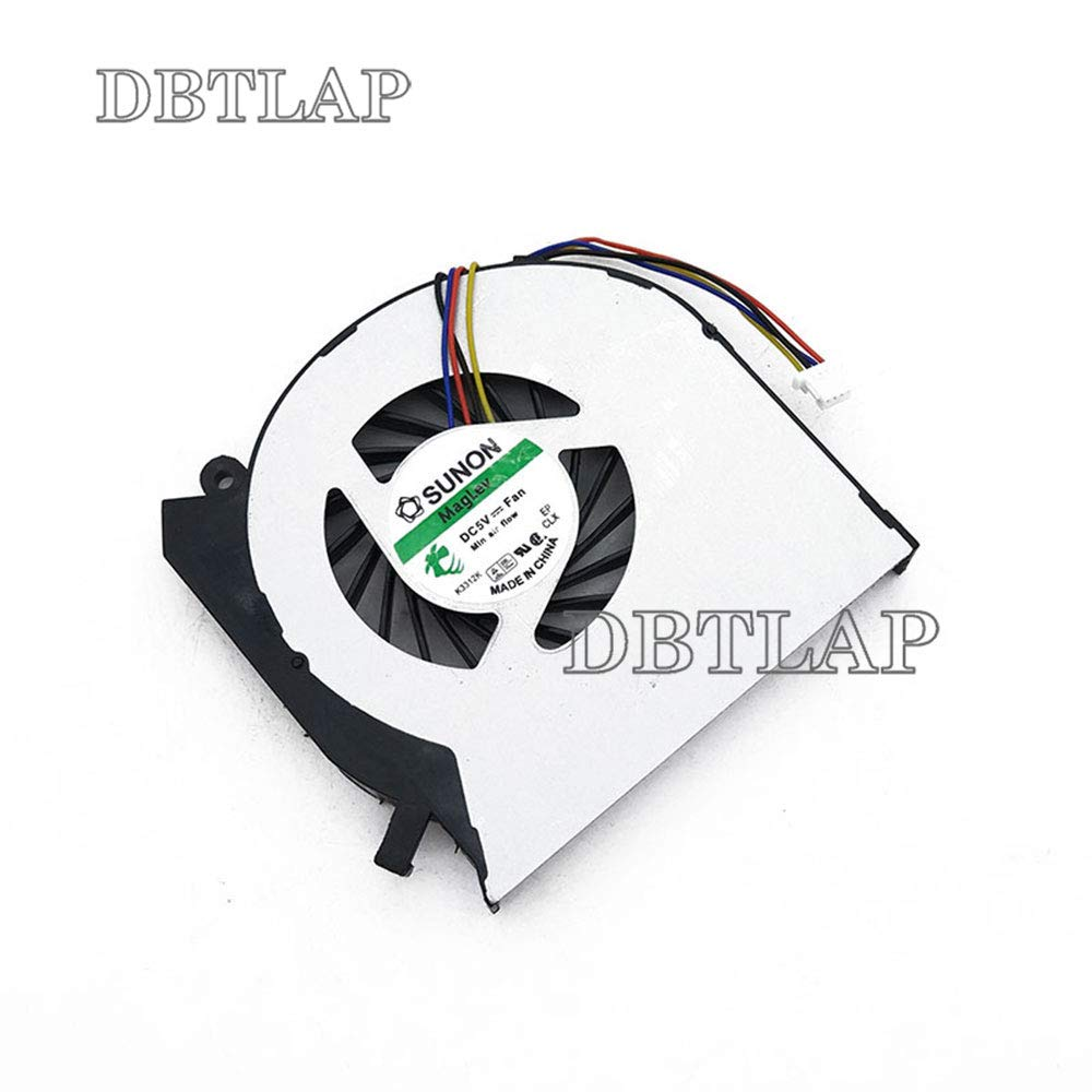 DBTLAP Laptop CPU Fan Compatible for HP Envy dv7-7300 dv7-7310dx dv7-7323cl dv7-7333cl dv7-7358ca dv7-7373ca dv7-7398ca dv7t-7300 dv7t-7300 Cooling