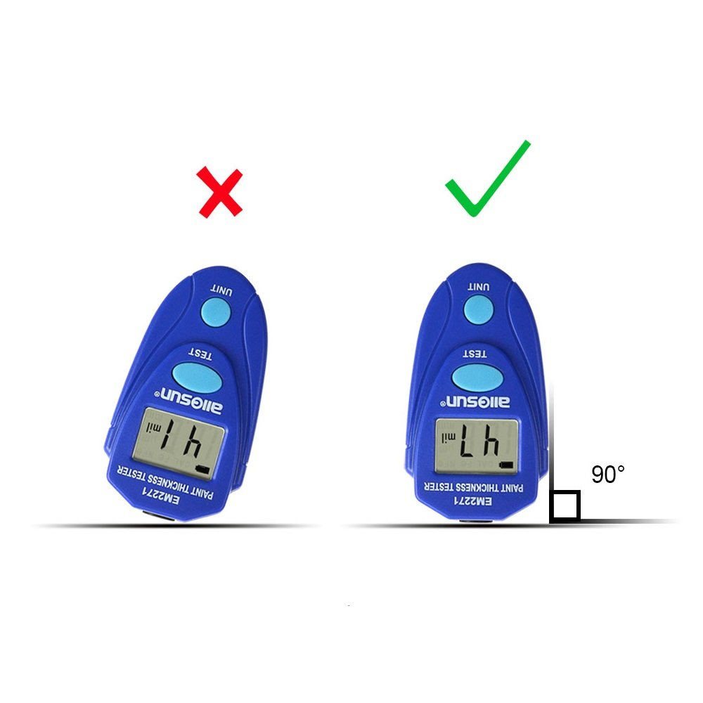all-sun EM2271 Blue Digital Painting Thickness Meter by all-sun (Image #5)