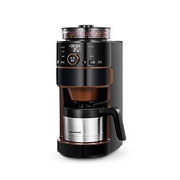 Cafeteras de Espresso automáticas Máquina de café Totalmente automática cafetera de Goteo Italiana pequeña máquina de un hogar cafetera Comercial Totalmente ...