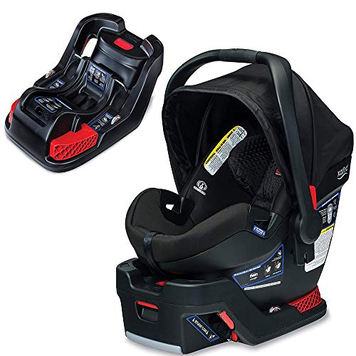 Britax B-Safe Ultra Infant Car Seat, Midnight with Extra Base Bundle