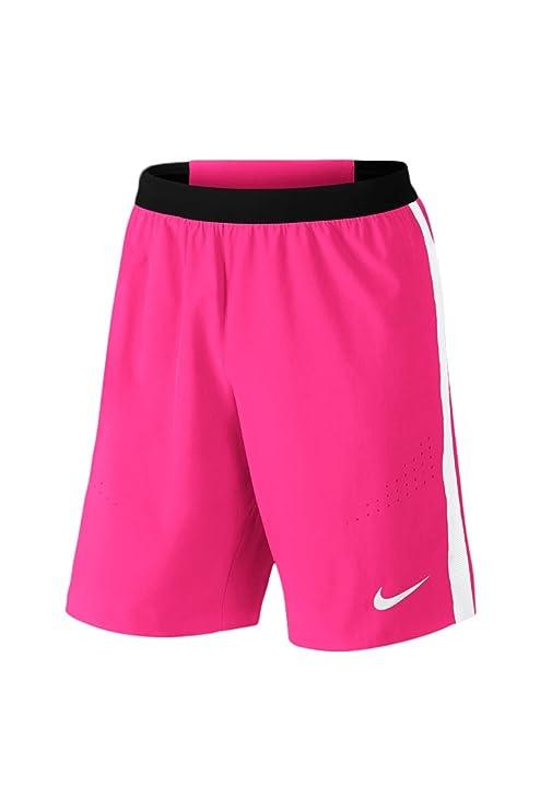 NIKE Men's Strike Woven Shorts, Pink Size Small