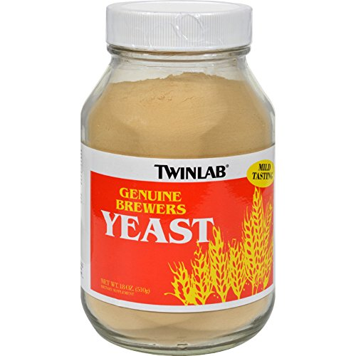 Twinlab Brewers Yeast - 18 oz - Recognized as a storehouse of 100% pure natural nutrients without added vitamins or minerals