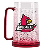 cardinals freezer mug - NCAA Louisville Cardinals 16oz Crystal Freezer Mug