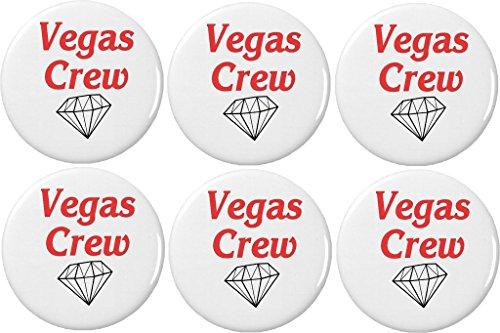 QTY 6 Vegas Crew (Diamond Wedding Bride Bachelorette Party) 2.25